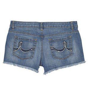 DKNY Vintage Denim Jean Shorts 100% Cotton Women's